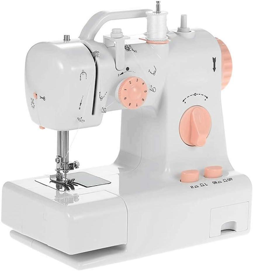 Adesign Máquina de Coser, Hacer a Mano multifunción portátil de la reparación de la máquina, Robusta máquina de Coser del hogar Comer Grueso Pedal de la máquina de Coser