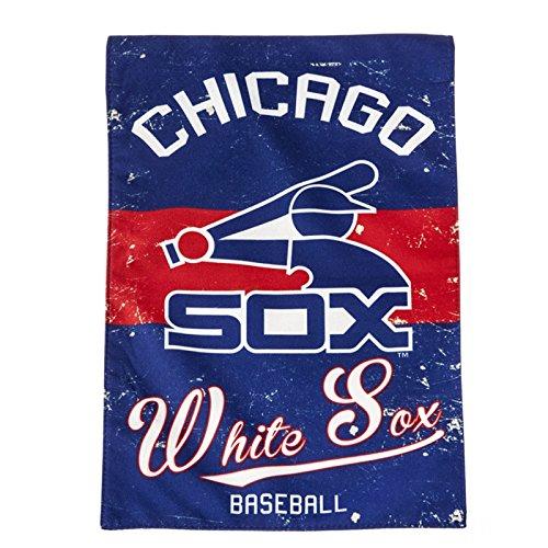 Chicago White Sox EG Vintage GARDEN Flag Premium 2-sided Retro Banner Baseball ()
