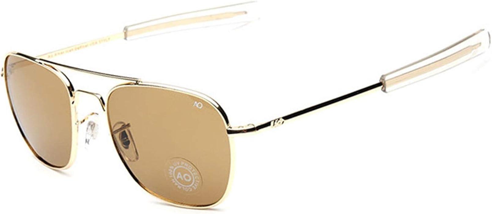 Gafas, Gafas de sol, NEW Fashion Army MILITARY AO Pilot ...
