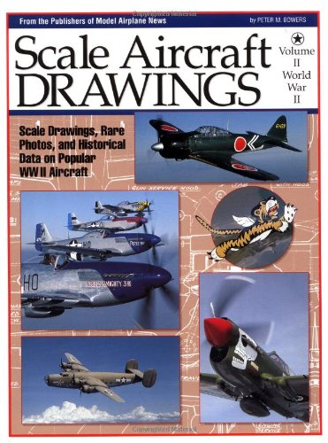Scale Aircraft Drawings: World War 2, Vol. (Scale Aircraft Drawings)