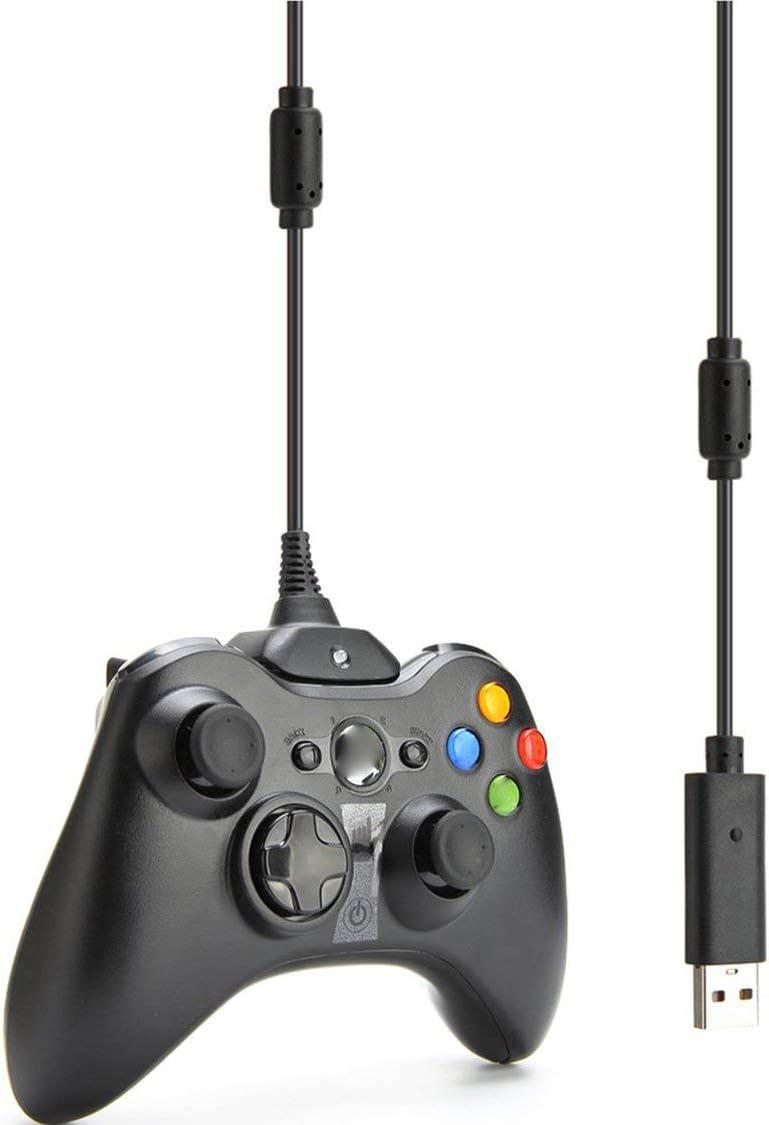 Dynamovolition USB Charger Play y Cable de Carga Cable para Xbox 360 Controlador inalámbrico Cable de Carga Línea de Carga