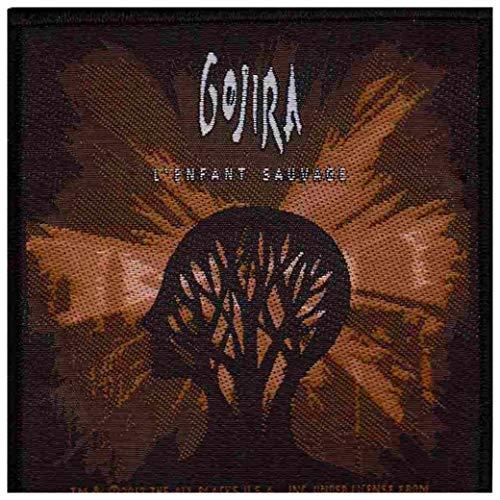 Gojira L'enfant Sauvage Official Patch (10cm x 10cm)