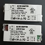 2pcs 12V 5A 60W LED Power Supply AC/DC Adapter LED Driver 100V-240V Power Supply Lighting Transformer for LED Lamp Strip ZF120A-1205000