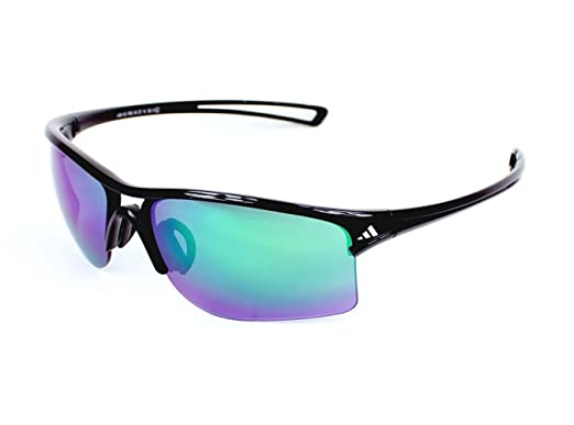 6094f03cd544 Adidas Raylor L A404 7053 (Shiny Black with Black with Mirror Effect Lenses)