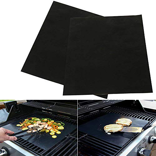 PERTTY 2 Pack Large Non-Stick Oven Liners - Premium Heavy Duty Liner for The Bottom of Convection, Electric, Gas, Toaster and Microwave Ovens - Certified Protector BPA and PFOA Free