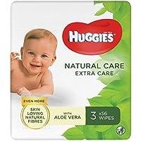Huggies billendoekjes Natural Extra Care, 672 doekjes (56 x 12 verpakkingen)