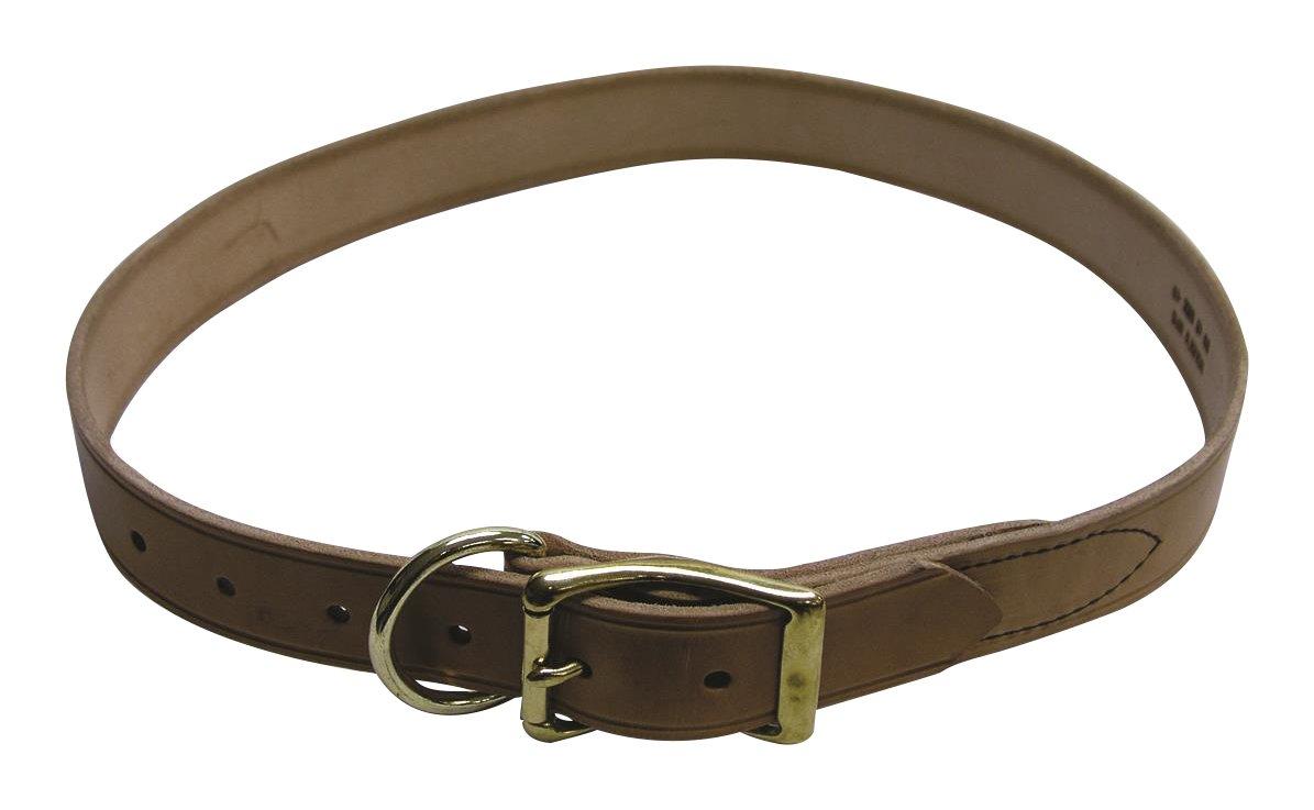 BEILER'S Manufacturing 42 268208 Cow Collar Tan 1 1 2 x 42