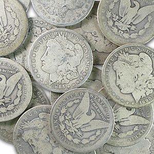 1878-1904 Morgan Silver Dollars