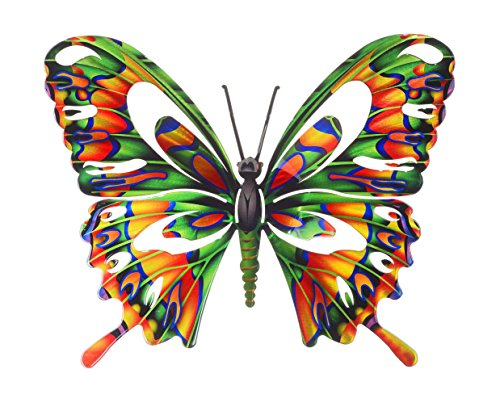 Next Innovations WA3DLBFLYMULTI Butterfly Refraxions 3D Wall Art, Large, (Insect Wall Decor)