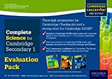 Complete Science for Cambridge Secondary 1 Evaluation Pack, Philippa Gardom Hulme and Pam Large, 0198307381