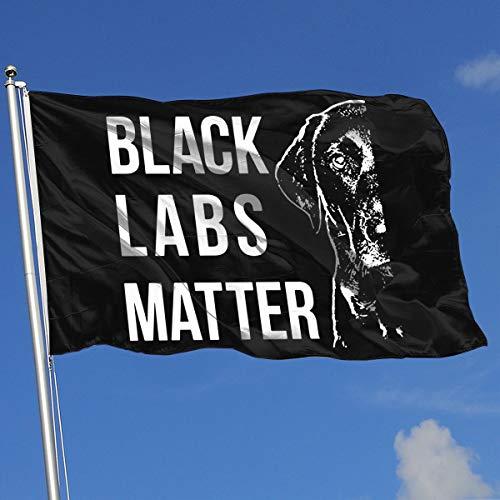 Louisiana Halloween Shooting (A13UDQ Outdoor Flags Labrador Black Labs Matter 3X5 Ft Flag for Outdoor Indoor Home Decor Sports Fan Football Basketball Baseball)