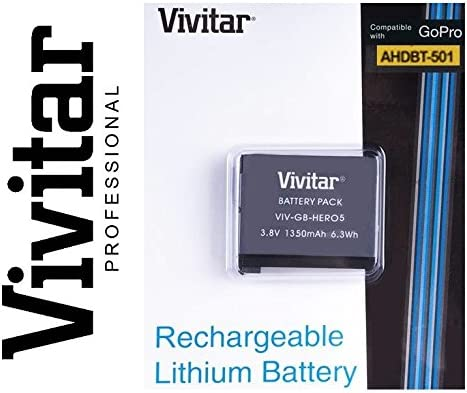 Vivitar Travel Quick Charger ac//dc for GoPro AHDBT-001 Battery 110 220v