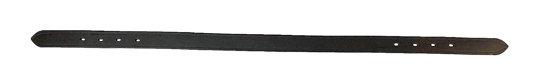 Equitem 28インチスムースレザー交換用クラウンストラップ ブレークアウェイホルター用  ダークブラウン B07KQDKGXN