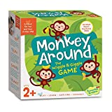 Peaceable Kingdom Monkey Around - The Wiggle & Giggle Game of Movement for 2-Year-Olds