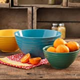 The Pioneer Woman Flea Market 3-Piece Mixing Bowl Set