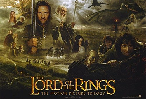 LORD OF THE RINGS TRILOGY 13.5x20 INCH PROMO MOVIE POSTER (Lord Of The Rings Trilogy In Theaters)