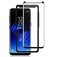 Galaxy S8 Plus Screen Protector,AceTend [Case Friendly] Fix Frame,Full Coverage,HD Clear,Anti-Bubble,Anti-Scratch,Easy Installation-3D Curved Tempered Glass Screen Protector for Samsung Galaxy S8 Plus from ACETEND