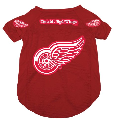 Hunter MFG Detroit Redwings Dog Jersey, Extra Large