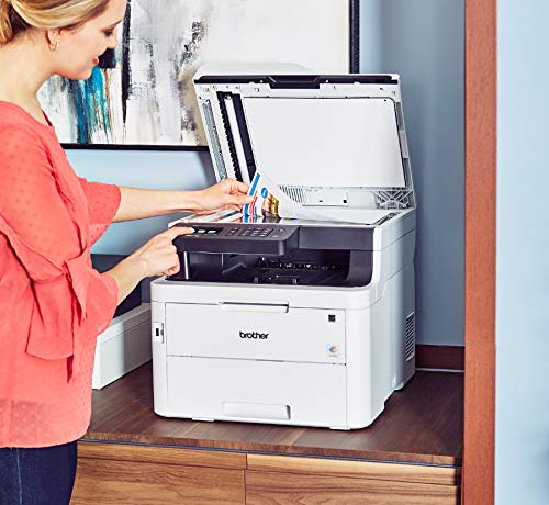 Brother MFC-L3750CDW Digital Color All-in-One Printer, Laser Printer Quality, Wireless Printing, Duplex Printing, Amazon Dash Replenishment Enabled by Brother (Image #7)
