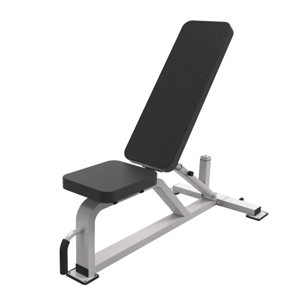Black 132.568119.5cm Adjustable Benches Adjustable Weight Bench MultiFunctional Fitness Chair situp Board Bench Press Dumbbell Bench Gym LoadBearing 400kg Benches (color   Black, Size   132.5  68  119.5cm)