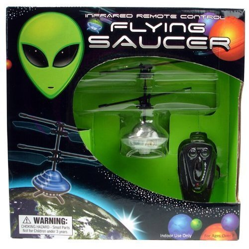 FLYING SAUCER (Colors May Vary) -