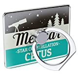 Cell Phone Ring Holder Star Constellation Name Cetus - Menkar Collapsible Grip & Stand Neonblond