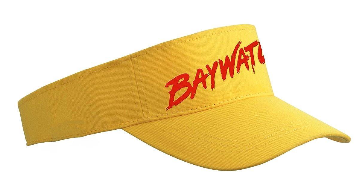 Sonnenschutz-Visor Baywatch gelb