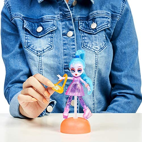4.5 inch Small Doll with Capsule Machine Unbox Capsule Chix HoloGlow Collection