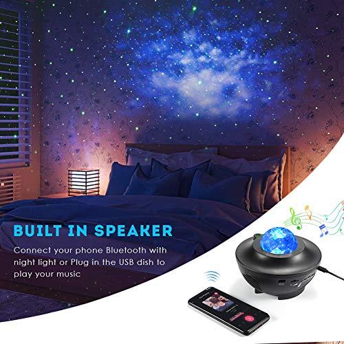 Delicacy Proiettore a Luce Stellare, Proiettore Stellato Bluetooth