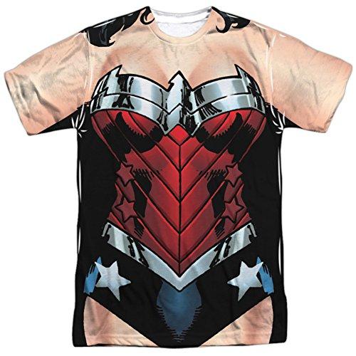 Martian Manhunter New 52 Costume (Wonder Woman- New 52 Costume Tee T-Shirt Size S)