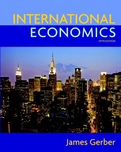 International Economics (5th Edition) (The Pearson Series...