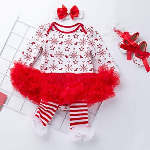 Party Strampler Stücke Baby Weihnachten Yuandiann 4schnee