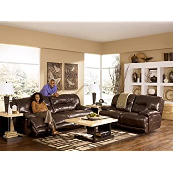 This Item Ashley Furniture Signature Design   Exhilaration Recliner Sofa    Power Reclining Couch   Chocolate Brown