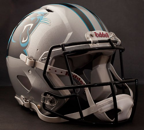 NFL Carolina Panthers Speed Authentic Football (Panthers Helmet)