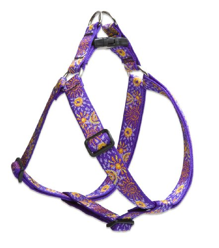"""LupinePet Originals 1"""" Sunny Days 24-38"""" Step in Harness for Large Dogs"""
