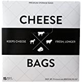 Formaticum Cheese Storage Bags, 15 Count