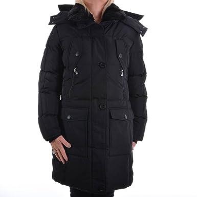 Wellensteyn herren winterjacken parka mantel schwarz