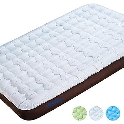 baixue Aire respirabile Oxford cama doble cojín de aire Cama Individual Colchón Hinchable addensato portátil a ...