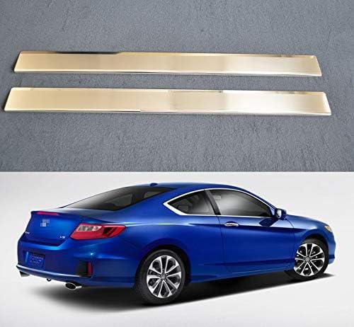 Blue Led 304 Stainless Door Sill Scuff Plate Honda Accord 4door Sedan  2016 2017