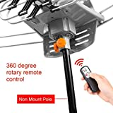 Outdoor Antenna 150 Mile Range Digital TV Antenna