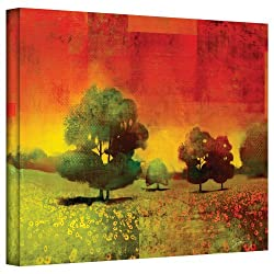 Art Wall 'Drenched Grace' Gallery Wrapped Canvas Art By Greg Simanson, 32 By 48-inch