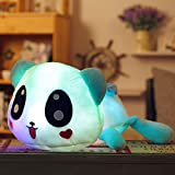 Luminous Plush Cute Panda Toys LED Nightlight Lovely Pillow, Glowing Pillow Soft Stuffed Panda Gifts Doll, 20 Inch by MAXYOYO