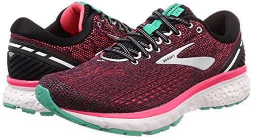 Brooks Black Aqua Femme de Ghost Chaussures 017 Pink Multicolore Running 11 HBrHqxwg