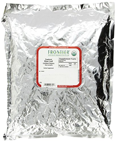 Frontier Natural Products 2759 Frontier Bulk Olive Leaf Powder - Organic, 1 Lbs.