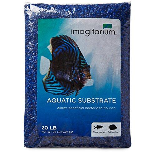 Imagitarium Dark Blue Aquarium Gravel, 20 LBS