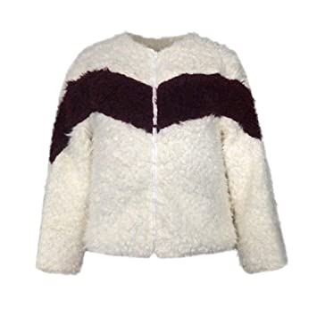Abrigo de invierno para mujer, de algodón cálido, con parches, informal, suave