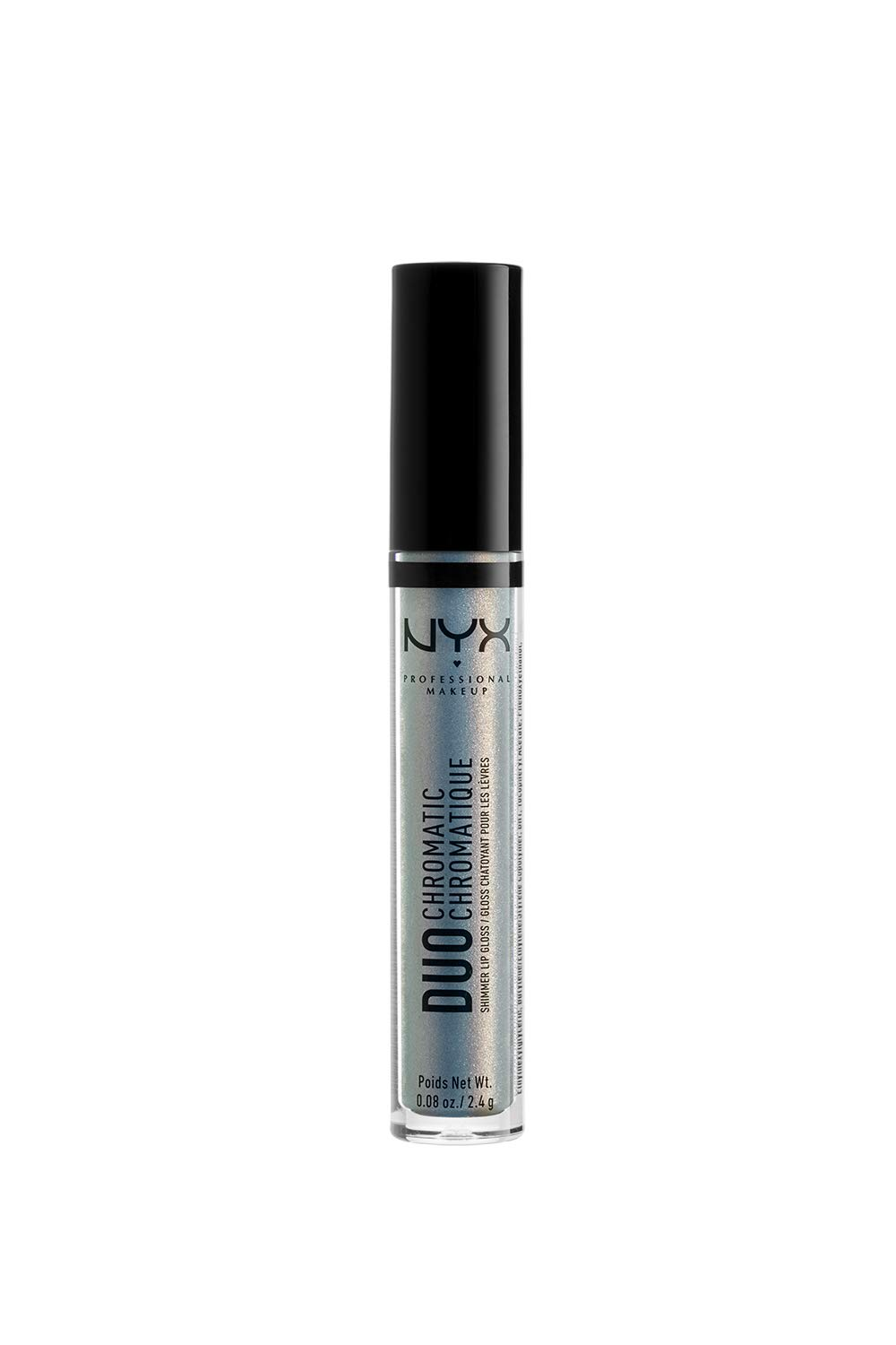 NYX PROFESSIONAL MAKEUP Duo Chromatic Lip Gloss, Day Club, 0.08 Ounce