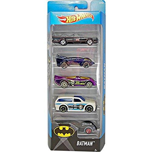 Hot Wheels 2017 Batman 5-Pack RW-KN-228
