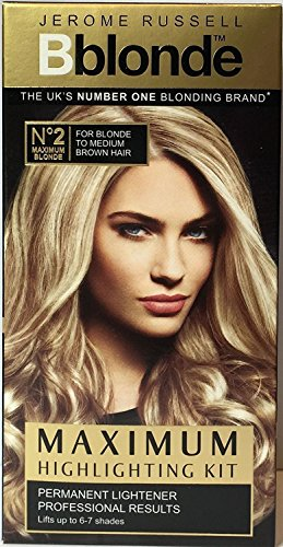 Jerome Russell Number 2 Bblonde Max Highlighting Kit, Pack of 3