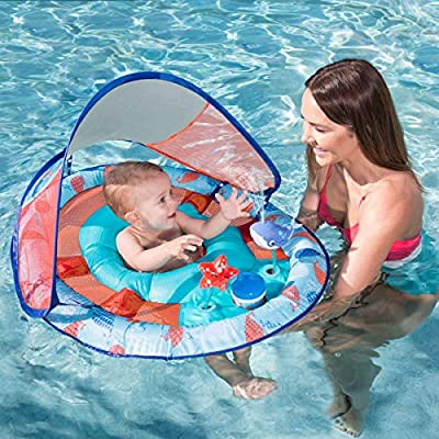 Baby Spring Float with Water Activity: Toys & Games